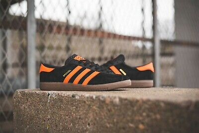 free shipping 2975b a0552 adidas Brussels Brussel size 8 city series deadstock rare originals black  orange