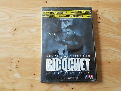 Dvd Ricochet Denzel Washington / John Lithgow / Ice.t Neuf Sous Blister