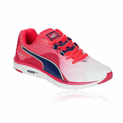 PUMA WOMENS FAAS 500v4 Running Shoes Trainers Sneakers Red White Sports