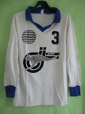 Maillot TOAC Volley Ball vintage Aerospatiale Airbus porté #3 Jersey - 1 / S