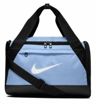0fbca3d7fa Nike Brasilia Xs Duffel Bag Travel Gym Training Blue white Ba5982 410 Nwt
