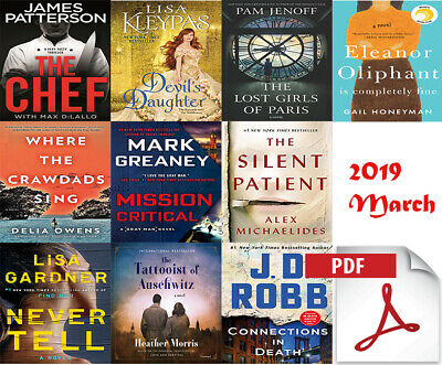 The New York Times Best Sellers Novels Collection - March [EB00K.PDF] 2019