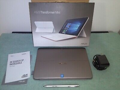 "ASUS T102HA Transformer Mini 10.1"" 2-in-1 Laptop Tablet 128GB T102H Windows 10"