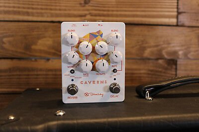 Keeley Electronics Caverns Delay Reverb Guitar Effect Pedal