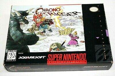Chrono Trigger (Super Nintendo, 1995) Only One Map is Missing *Very Good*