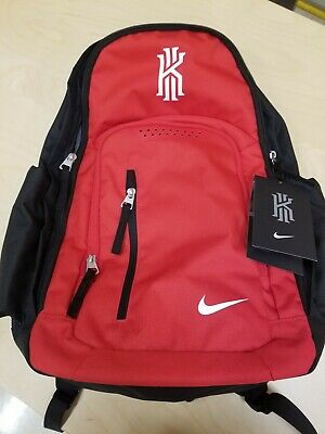 74f2afaef8da Nike Kyrie Irving Basketball Backpack Red  Black Kyrie 4(BA5133-657)Uncle