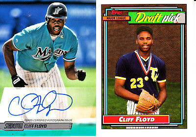 Cliff Floyd *14* Cards Includes Autograph + Rookie Card + *4* Inserts -- Look!