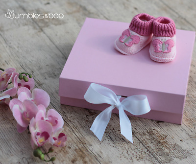 Medium Pink Gift Box With Ribbon | FREE Delivery
