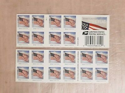 2016 US Flag Forever Stamps booklet of 20