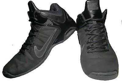 the latest 4a037 7fa09 Nike Air  Visi Pro 4 Nubuck Black Basketball Shoe Sneakers Men Sz 12  599569