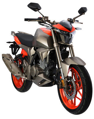 Razory Zontes ZT-250S 250ccm Streetfighter 18kW Orange-Grey Euro-4 und ABS