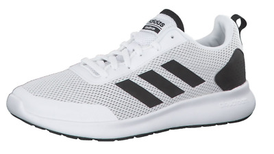 in stock ced9b 6e528 Mens Adidas Element Race Argecy White Athletic Sport Shoes B44856 Sizes  7.5-14