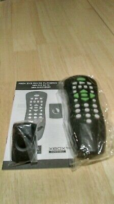 Original Microsoft Xbox DVD Remote Control, Receiver & Manual, New but Unboxed