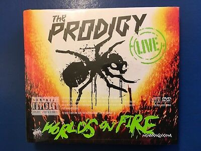The. Prodigy.     Worlds On Fire         Cd  /. Dvd.  Digibook.