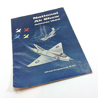Adelaide National Air Show 1966 Programme