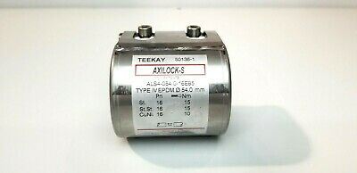 "Teekay Axilock-S Coupling, 54Mm (2.12""), Epdm Gasket, 316Ss Body, Type Iv"