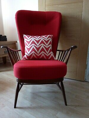 CUSHIONS for BEAUTIFUL ERCOL CHAIR TO ORDER-Other colours (FRAME NOT INCLUDED)