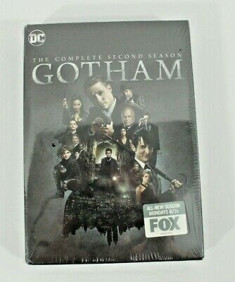 Gotham: Seasons 1 and 2 (DVD, 2018) Factory Sealed Brand New FREE SHIPPING