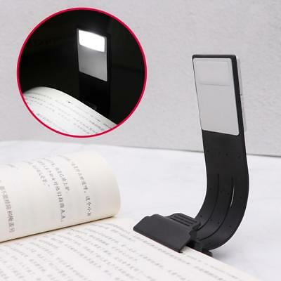 Super Magnetic USB Rechargeable LED Book Light Flexible Clip On Night Reading