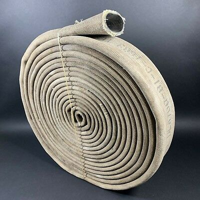 "FIRE HOSE 4.5"" INCH FLAT 40' FEET BOAT DOCK BUMPER Chafe RAILING Mooring Canvas"