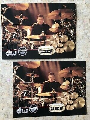 RUSH, Neil Peart: SS Professor Postcard (2 available)(very rare)