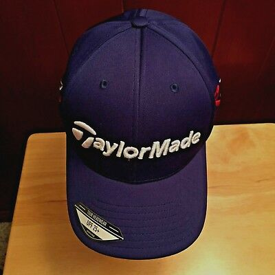 4d747cf9692 TaylorMade R15 Aero Burner Golf Hat Cap NEW Navy Blue Tour Taylor Made UPF  25+