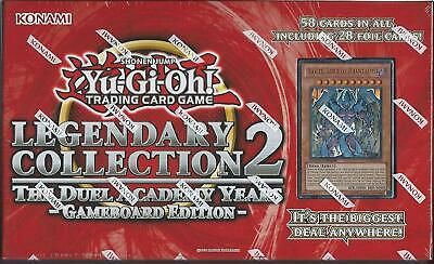 YUGIOH Legendary Collection 2: Gameboard Edition (5x LCGX BOOSTER PACKS + BOARD)