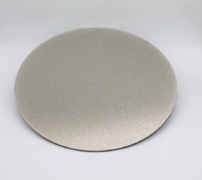 "8"" 220Grit Diamond Flat Lap Lapidary Polishing Glass Facetor Full Face Disc"