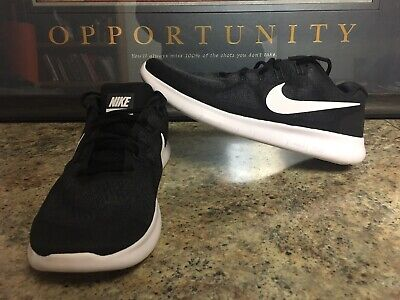 a4fa2cd91c83 Nike Free RN 2017 Running Shoes 880839-001 Mens Size 10.5 New Black White  Grey