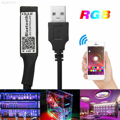 D76B Universal Bluetooth LED Strip Light LED Dimmer Controller RGB Controller