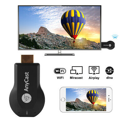 M4 Plus AnyCast Wireless WiFi Display TV Dongle Receiver Miracast Airplay AH367