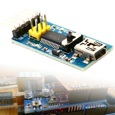 FT232RL 3.3V 5.5V FTDI USB to TTL Serial Adapter Módulo Arduino Blue Port TE321