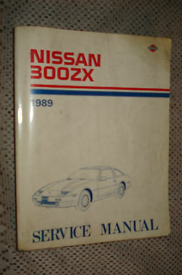 1993 NISSAN 300ZX Shop Manual 300 ZX Repair Service Book Coupe and