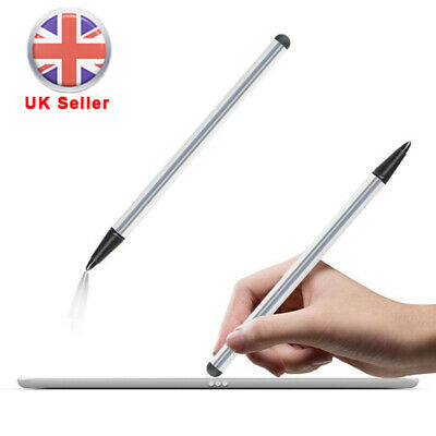 Stylus Touch Screen Pen for iPad iPhone Samsung Tablet PC iPod Cellphone Silver