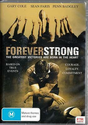 Forever Strong - Gary Cole - New & Sealed Region 4 Dvd Free Local Post