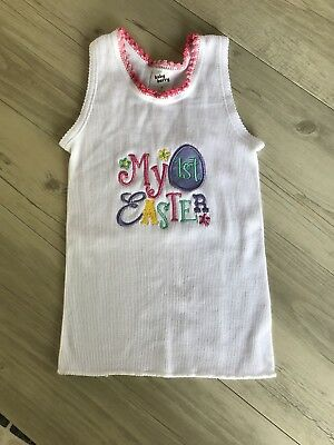 Easter Singlet, My First Easter, Baby Singlet, Easter Gift Size 0 Newborn