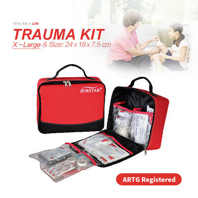 X-Large Trauma Kit First aid Kit Outdoor Camping Family Survival ARTG Registered