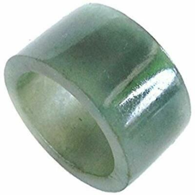 """Mixed Color Jadeite Wide Thumb Men Archer Ring 12mm US Size 4.5-13 (US 10) """""""