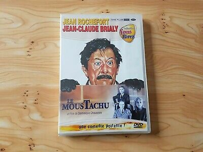 Dvd Le Moustachu Jean Rochefort / Jean Claude Brialy Neuf Sous Blister