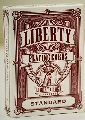 Liberty Playing Cards (RED) Limited Edition Poker Deck by Gambler's Warehouse