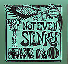 Ernie Ball Not Even Slinky Electric Guitar Strings (12-56)