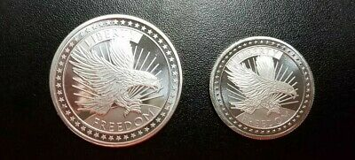 1.5 oz 999 Fine Silver SD Bullion Freedom Eagle