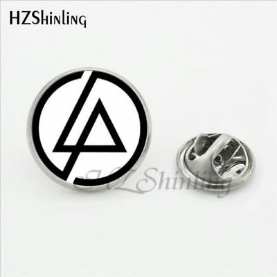 Linkin Park  16Mm Pin Badge In White And Black