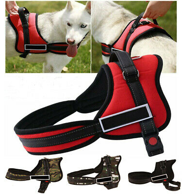 No-pull Dog Harness Outdoor Adventure Pet Vest Padded Handle- Small-Extra Large
