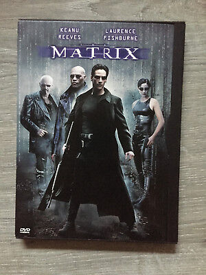 The Matrix DVD (Keanu Reeves, Laurence Fishburne, Carrie-Anne Moss) 1999