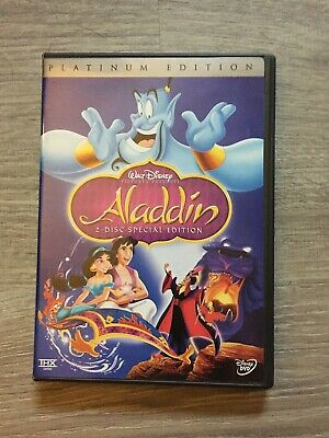 ALADDIN Disney Platinum Edition 2-Disc DVD Special Edition (animated movie)