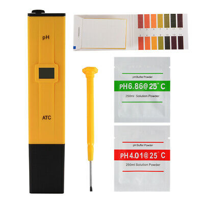 pH Meter Digital Tester for Household Drinking Water, Pools, Aquariums TH925
