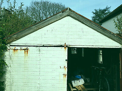 1950s Tin, Timber & Steel Garage 18.25ft long x 10ft wide