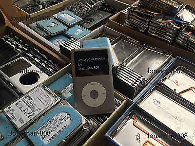 Apple iPod classic 6th gen 80gb or 120gb to 128gb flash SSD upgrade service