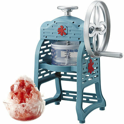 DOSHISHA Manual Fluffy Shaved Ice Maker Classic Type Kakigori Snow Cone